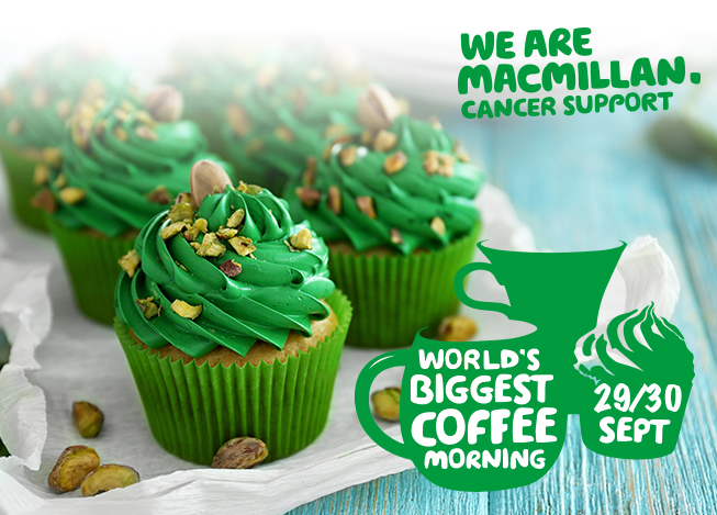 Macmillan Coffee Morning Wolverhampton Queen Square