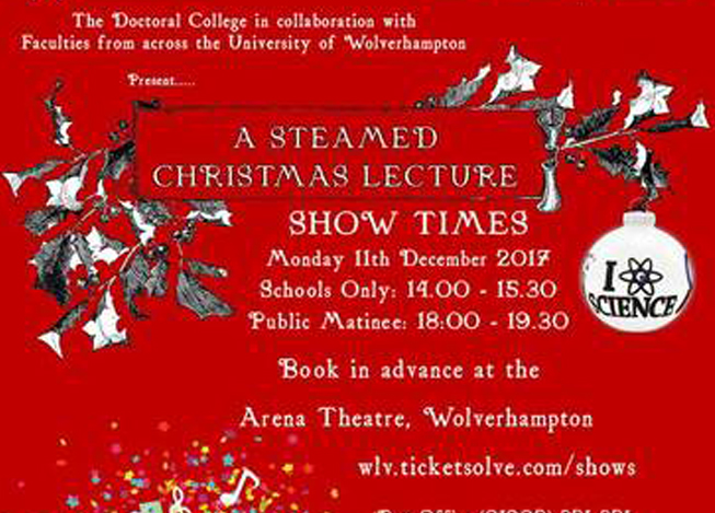A Steamed Christmas Lecture