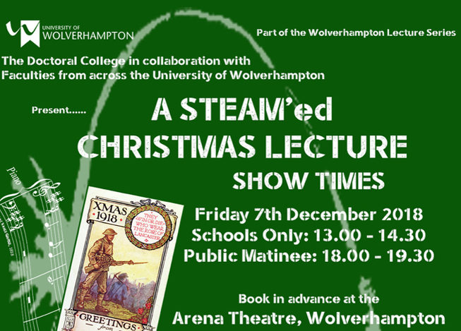 A STEAM'ed Christmas Lectures