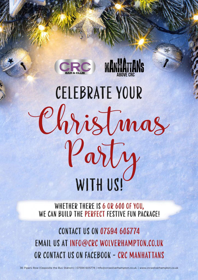 CRC Manhattans Christmas Party