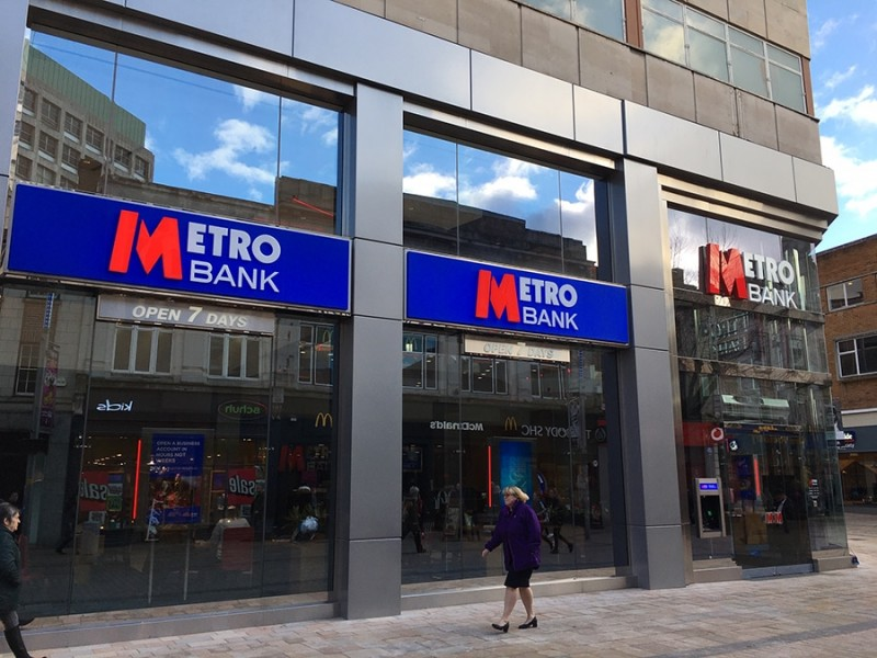 Metro Bank Opens New Store In Wolverhampton