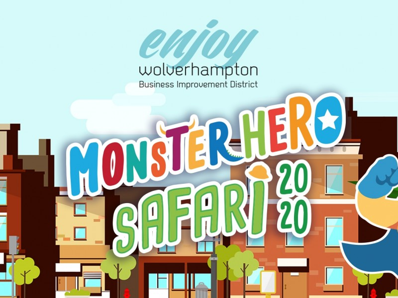Wolverhampton Monster Hero Safari 2020