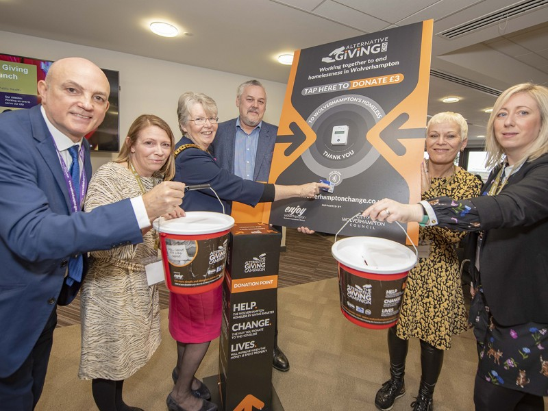 Charity launch to support Wolverhampton's homeless